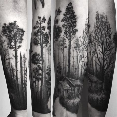 Related Image Tattoos Forest Landscape Tattoo