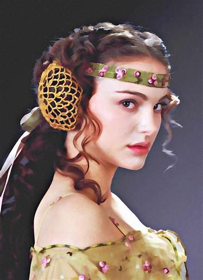 Natalie Portman Amidala Padme Wars Star Skywalker