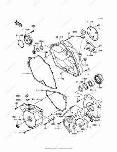Kawasaki Atv 1998 Oem Parts Diagram For Engine Cover S