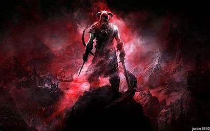 Skyrim Dragonborn Elder Scrolls Steamer Dlc Minimalist