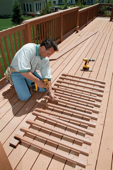 Trex Decking Layout