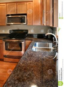 kitchen faucet on sale kitchen wood cabinets black and stainless stove royalty free stock photo image 4940105