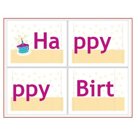 birthday banner  common dtp software