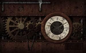 Steampunk mechanical clock watch bokeh gears wallpaper ...