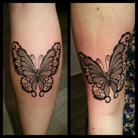 tattoo papillon dentelle tatouage  punky pinterest