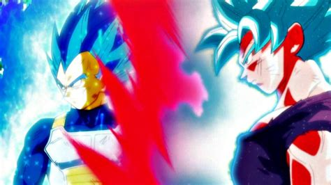 vegeta surpasses super saiyan blue dragon ball super