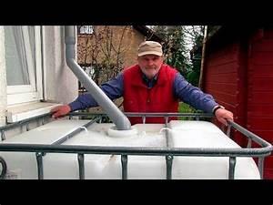 Wasserfilter Selber Bauen : pool bau aus einem 1000 l ibc tank container youtube pool pinterest hochbeet selber ~ Frokenaadalensverden.com Haus und Dekorationen