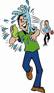 Water Fight Clipart