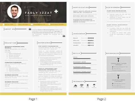 Template Untuk Resume by Panduan Lengkap Menulis Resume 2018 Updated Resume Trendy