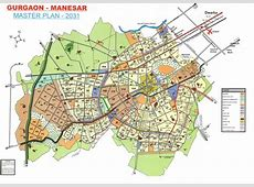 Gurgaon Master Plan 2031 Map for a quick reference