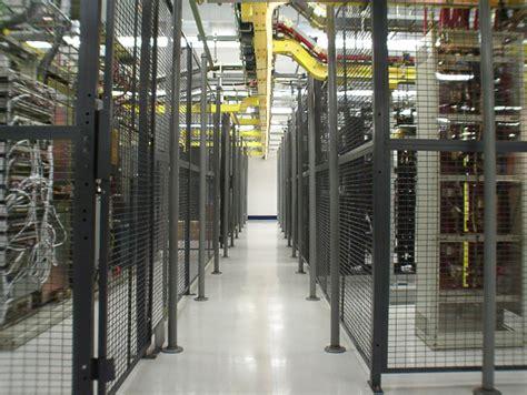 server cages data center cage warehouse rack  shelf