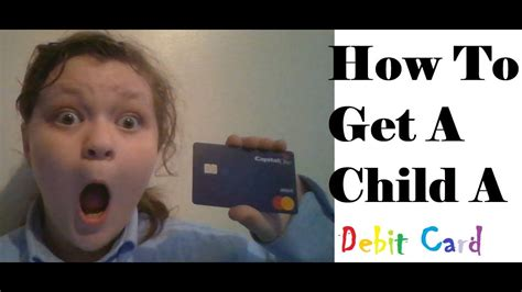 It is natural to witness an adjustment period whereby teens may make. How To Get A Child (8-18) A Debit Card - YouTube