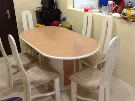 6 sitter dining table used philippines