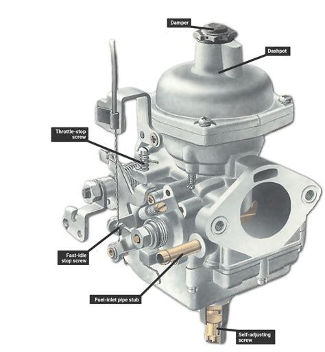 adjusting  stromberg carburettor   car works