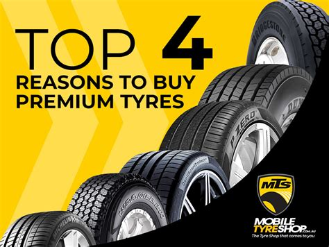 Top 4 Reasons To Buy Premium Tyres