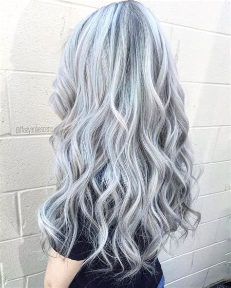 silver grey hair color silver gray hair 135 free hair color pictures
