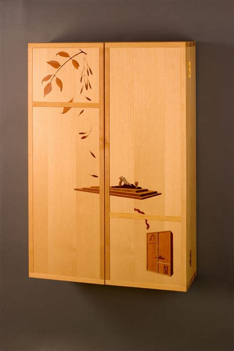 marquetry tool cabinet finewoodworking