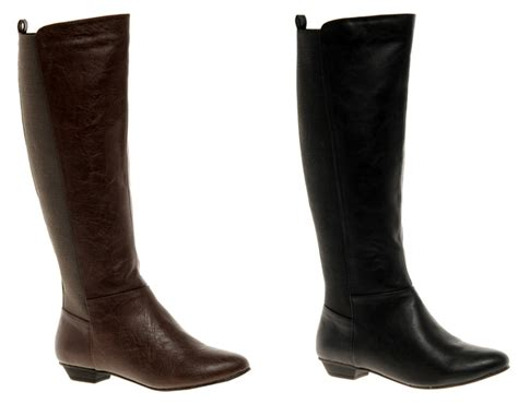 Asos Boots : Asos Casper Knee High Boots In Black And Brown> Shoeperwoman