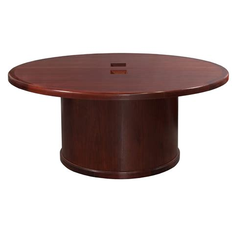 66 inch round table steelcase used 66 inch veneer round conference table