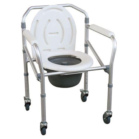 toilet chair folding commode chair jl696l aluminum