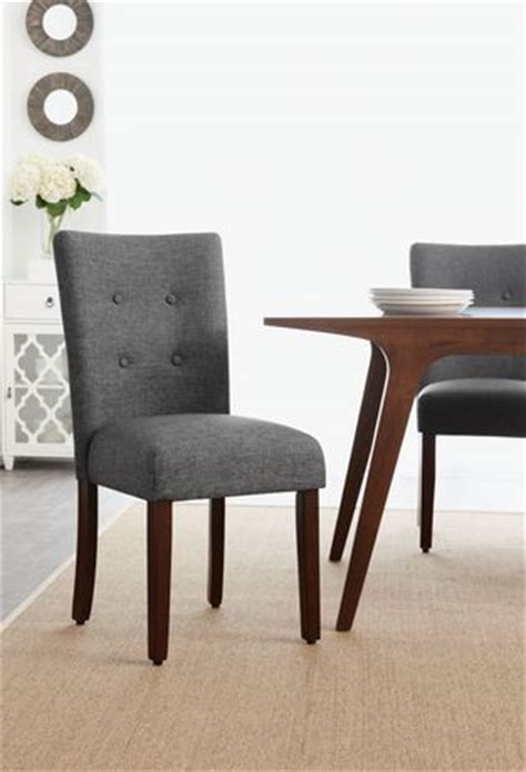 Dining Chairs Walmart Canada by Hometrends Grey Tufted Dining Chair Walmart Canada