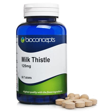 Bioconcepts Milk Thistle 100mg 60s Tablets Ebay