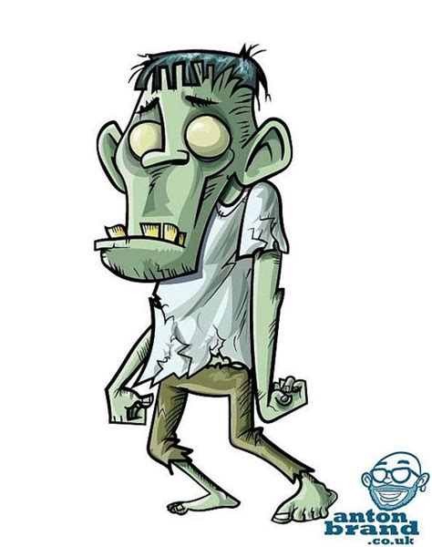 zombie cartoon ideas  pinterest funny
