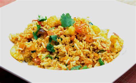 recette de cuisine recette indienne vidéo fried rice riz frit de