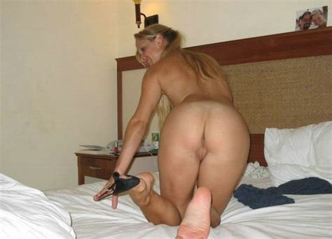 Wife Getting Naked On Bed And Prepared For Sex Action Photos