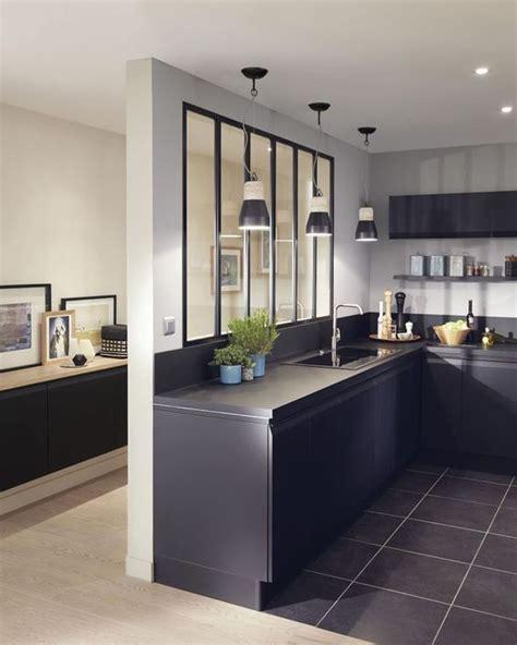 verriere separation cuisine la verrière intérieure en 62 idées pour toute la maison