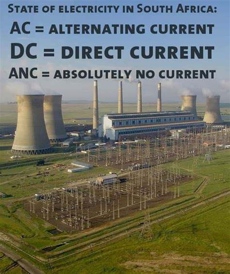 There is a low probability of load shedding today, with further improvements made in the immediate plan to ease load shedding. Shedding Light and Humour on South Africa's Loadshedding ...