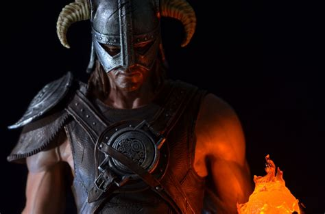 Bethesda Launches 299 Skyrim Dragonborn Statue Gamespot