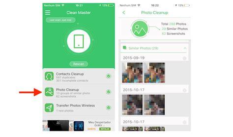 clean master for iphone como usar o clean master pro para encontrar fotos