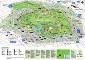 Regents Park London Map