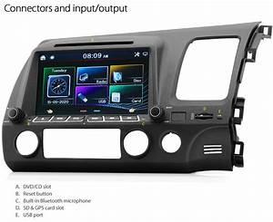 Car Dvd Player For Honda Civic Fd1 Fd2 Stereo Usb Mp3 Radio Head Unit Ozproz 6219592067429