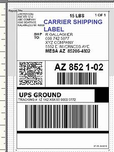 Printing setup for How to send a shipping label