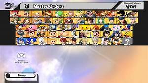 Full Roster Of Characters For Super Smash Bros Ultimate