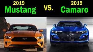 2019 Chevy Camaro SS vs. Ford Mustang GT: VISUAL COMPARISON - YouTube