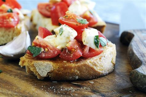 la bruschetta italiana la ricetta originale