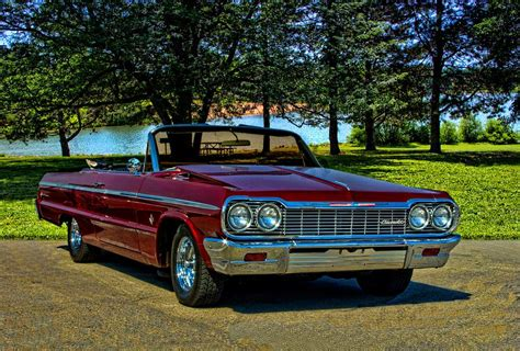 1964 Chevrolet Impala Convertible Photograph By Tim Mccullough