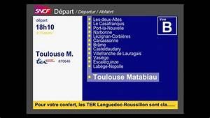 6 Annonce Toulouse : annonce sncf du train des plages n 870646 pour toulouse matabiau youtube ~ Maxctalentgroup.com Avis de Voitures