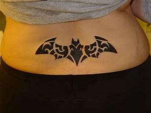 d9ad5ca02 Tribal Batman Tattoo Logo   Tattoos   Pinterest   Batman .