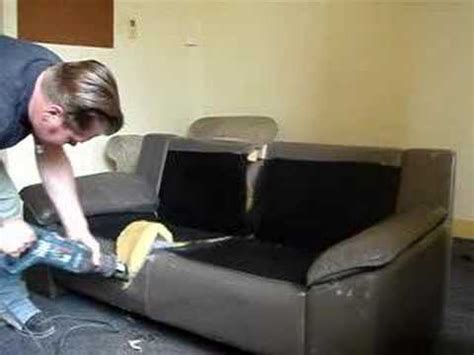 Chop A Couch In Half Youtube
