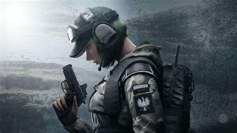 siege free wallpaper operator ela defender rainbow six siege 4k