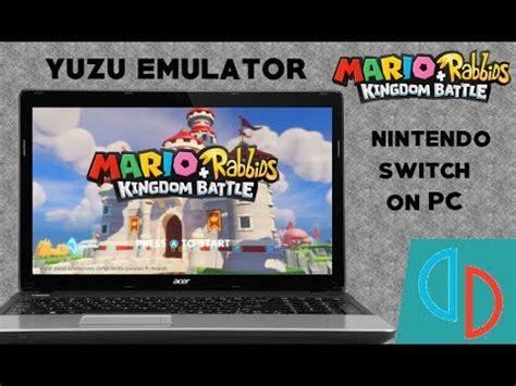 yuzu switch emulator mario rabbids kingdom battle
