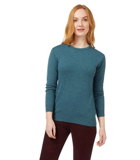 warm sweaters woolovers womens lambswool crew neck sleeve winter