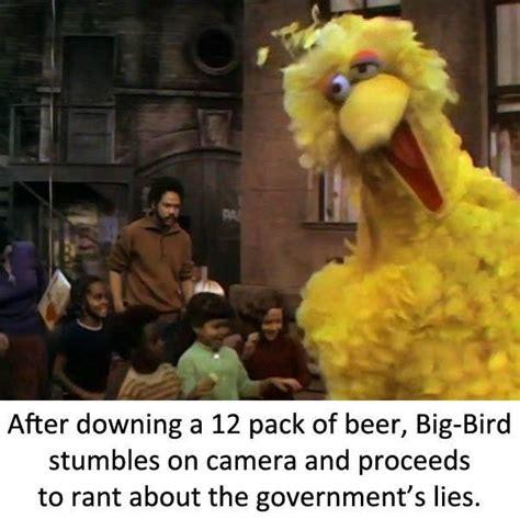Big Bird Memes - big bird s drunk bertstrips know your meme