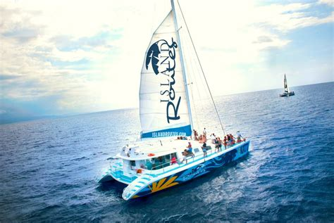 Catamaran Tour by Dunn S River Catamaran Cruise Island Routes