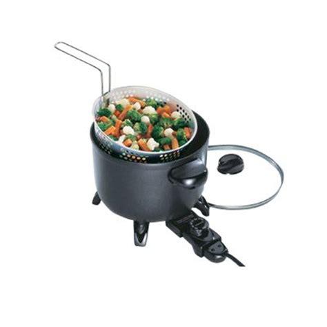 presto kitchen kettle presto 06000 kitchen kettle quot electric multi cooker steamer