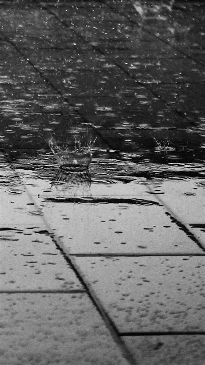 Iphone Rain Wallpapers Phone Backgrounds Background Plus